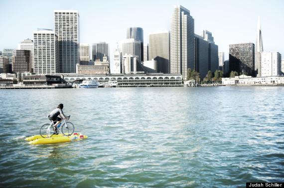 water bike sf
