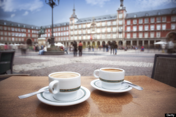 plaza mayor coffee