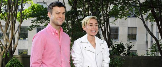 Getty Miley Cyrus Taught Taran Killam