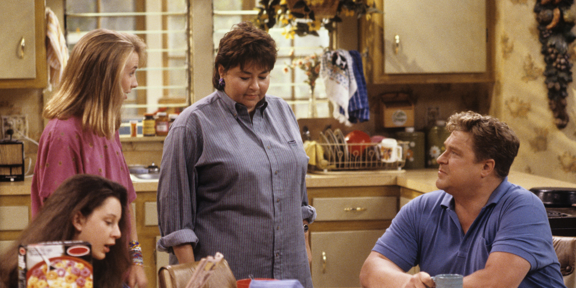 Image result for roseanne show