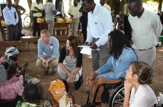 Lynnf Featherstone in Uganda