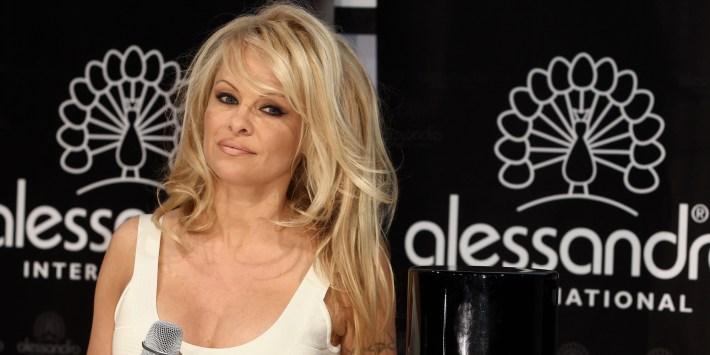 hair styles: pam anderson hair style