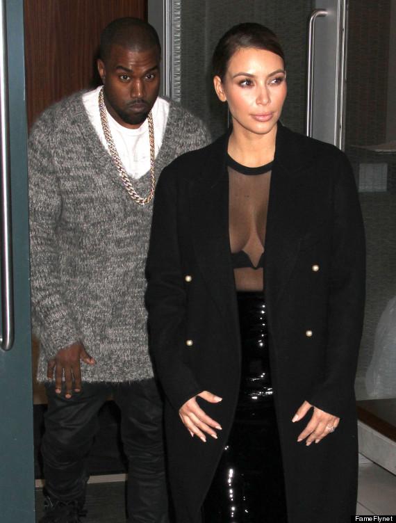 kim kardashian sheer shirt
