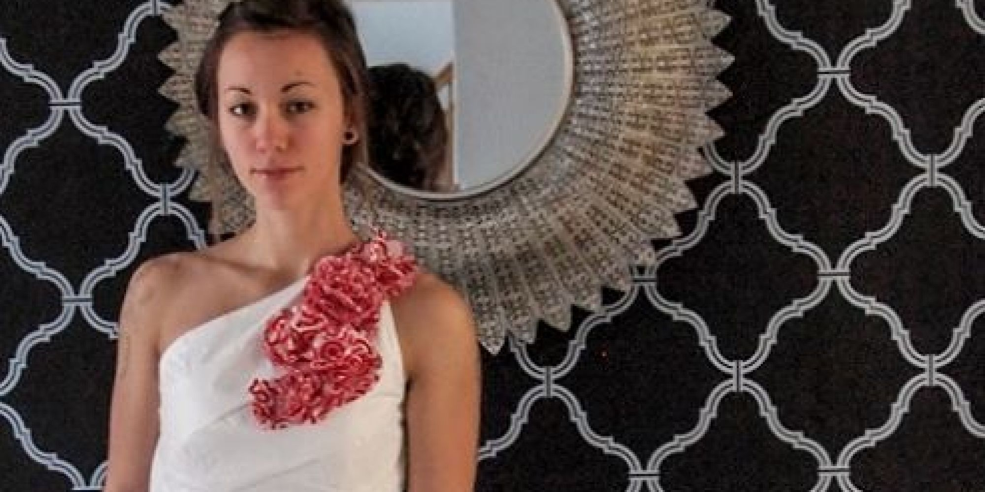 Wedding Dress Made From Recycled Target Bags Is A Sight To
