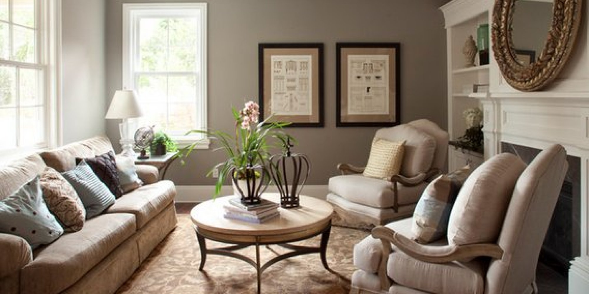 The 6 Best Paint Colors That Work In Any Home | HuffPost on Room Painting id=24632