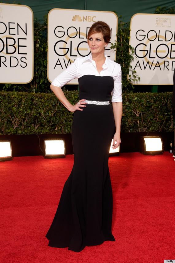 julia roberts golden globes dress 2014
