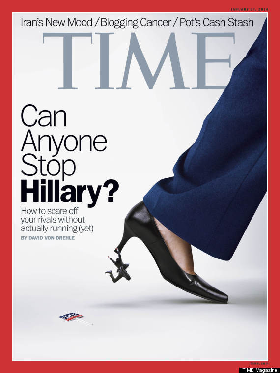 hillary time cover
