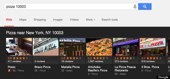 pizza google