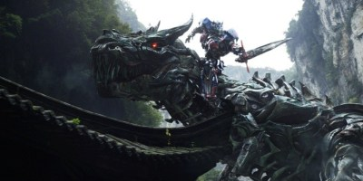 Transformers: Age of Extinction featured the cinematic debut of the Dinobots