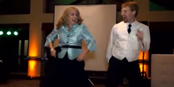 This Mother And Son's Wedding Dance Medley Is Epic (VIDEO ...