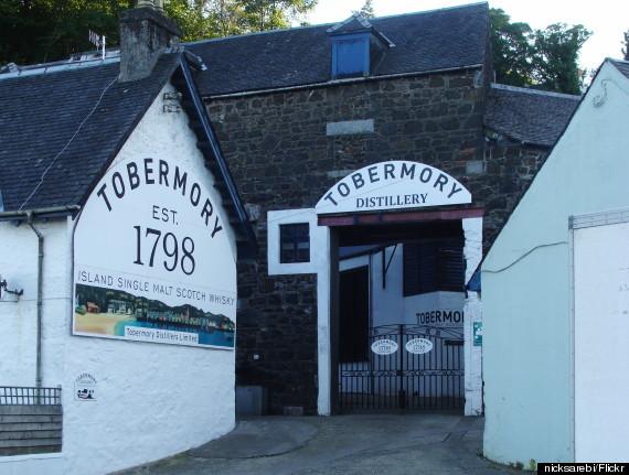 scotland distillery