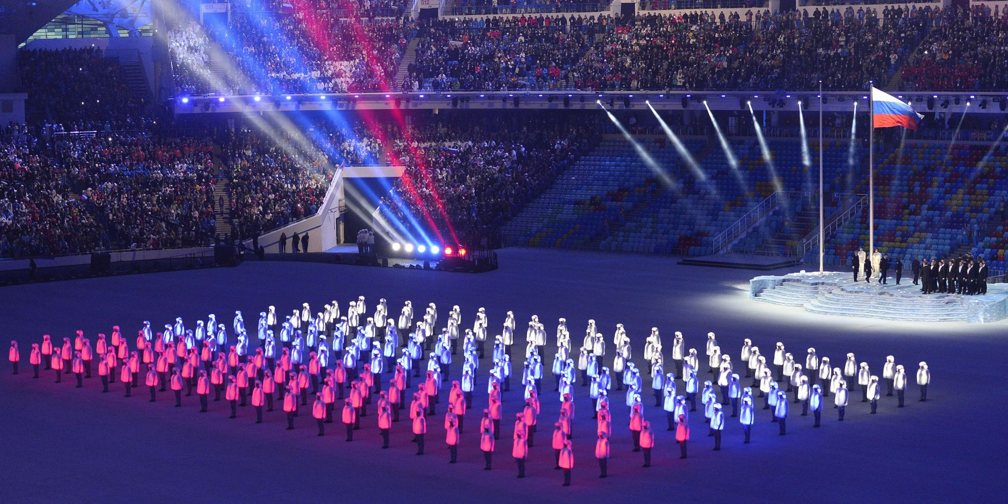 Sochi Winter Olympics Opening Ceremony In Pictures
