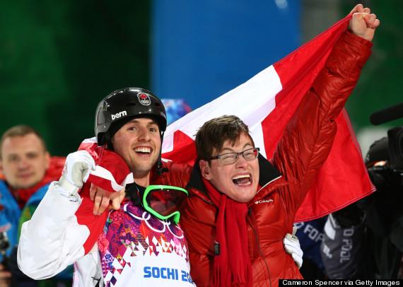 Alex Bilodeau Skier Canadian