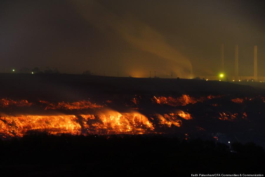australia coal mine fire 5