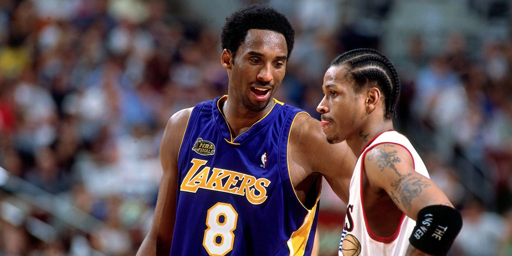 Kobe:之前球迷都不把我跟McGrady、Iverson相比,現在看看他們是對的!