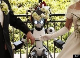 Robot Conducts Wedding