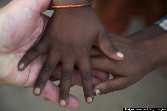 hold child hand india