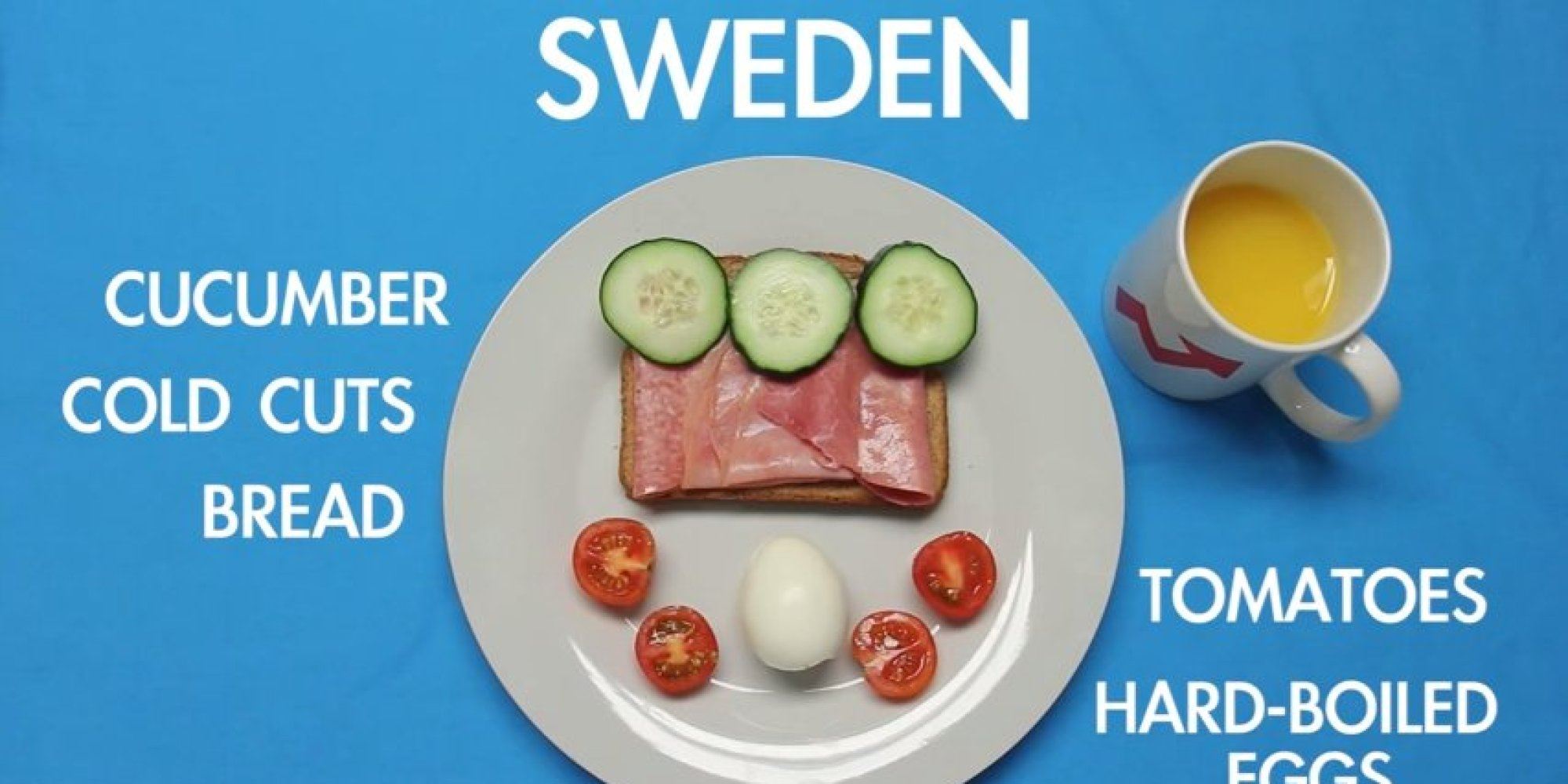 Ever Wonder What The Rest Of The World Is Eating For