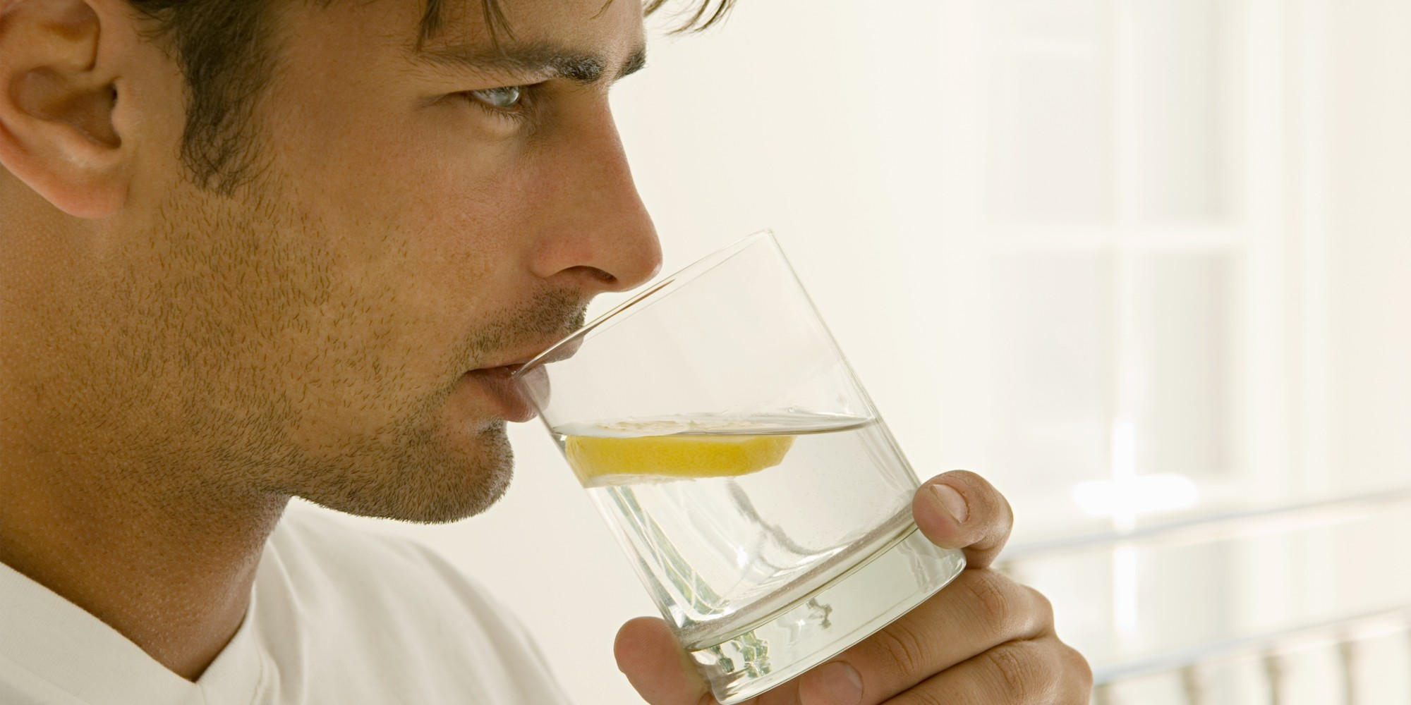Image result for picture of man drinking water