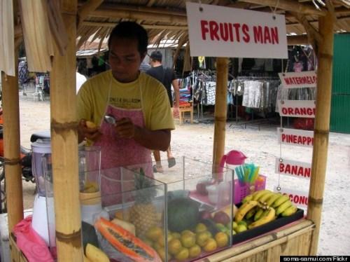 thailand fruit shake