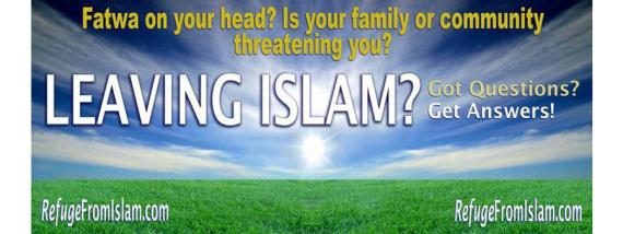 Leaving Islam Helpline.