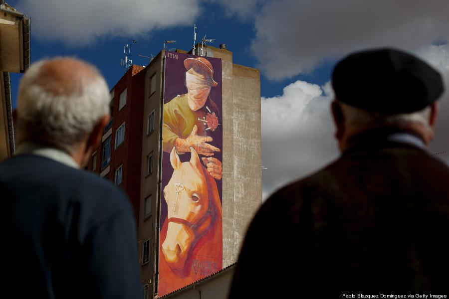 santiago Chile arte callejero