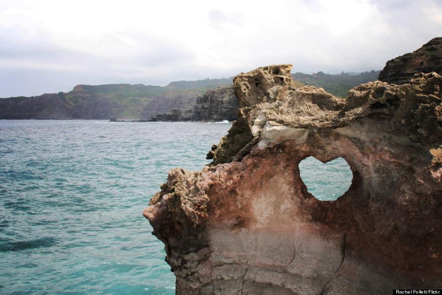 heart near nakahele blowhole