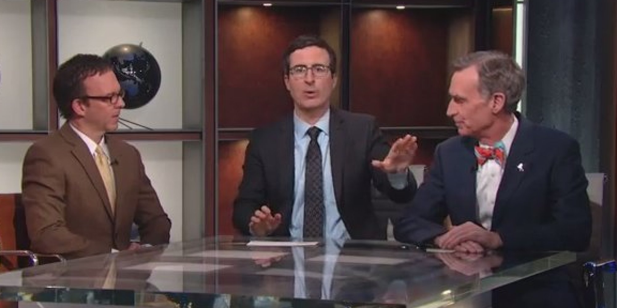 John Oliver Nails Climate Change Deniers On Hbo Show