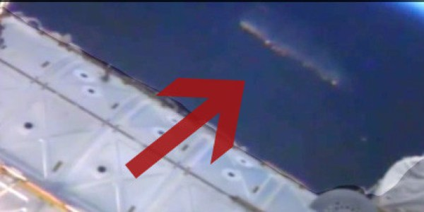 'Large Mothership' Caught On Camera By NASA's ISS Live ...