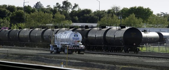 Rail Town Residents Fear Impacts Of Increased Oil Train