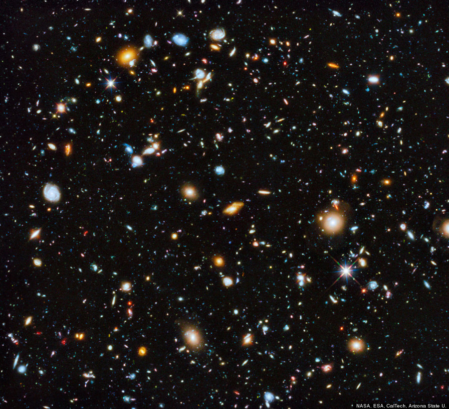 This Amazing Shot Of 10,000 Galaxies May Be The Hubble ...