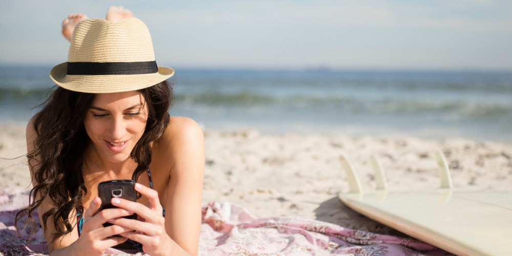 Image result for girl tourist on phone