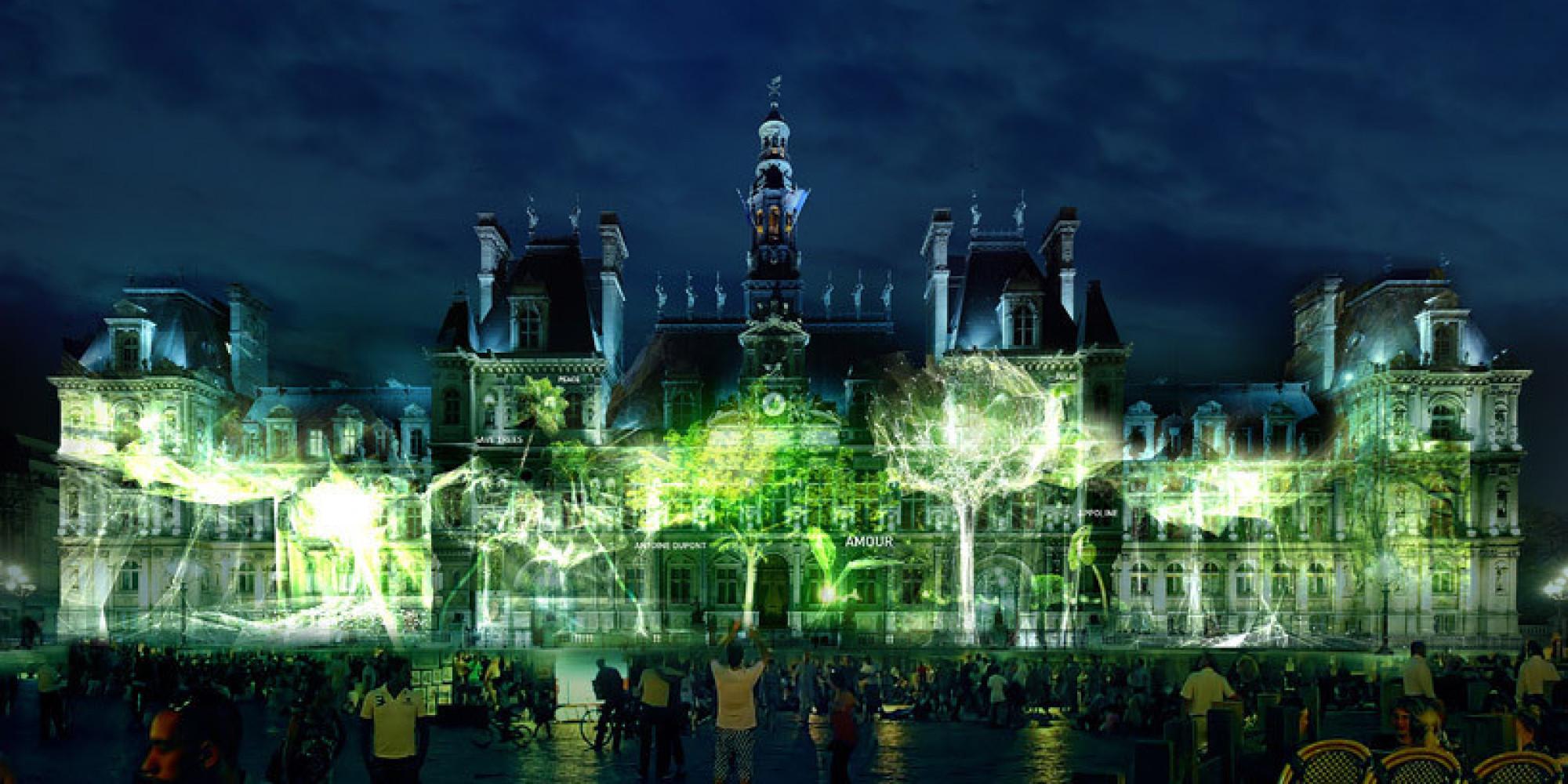 PHOTOS One Heart One Tree Un Arbre Virtuel Paris