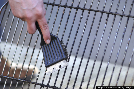 grill brush health