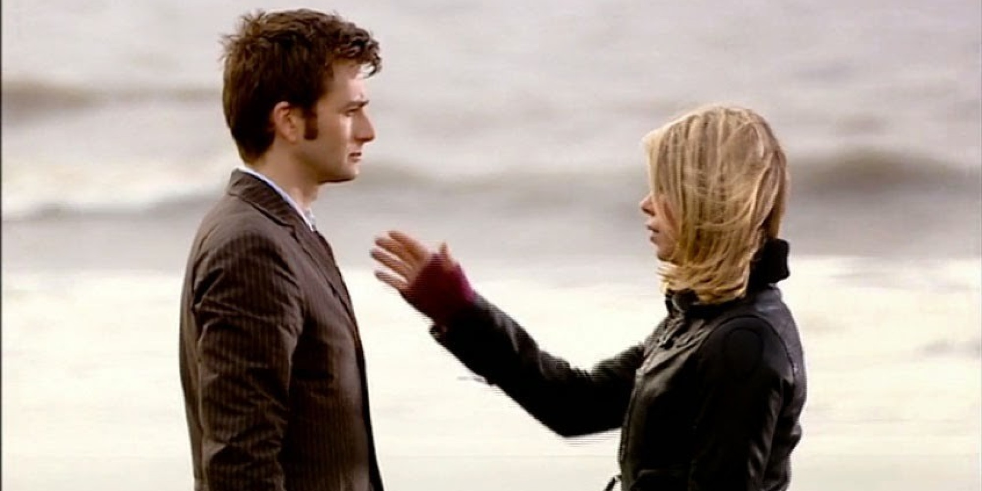 Image result for rose and the doctor final scene