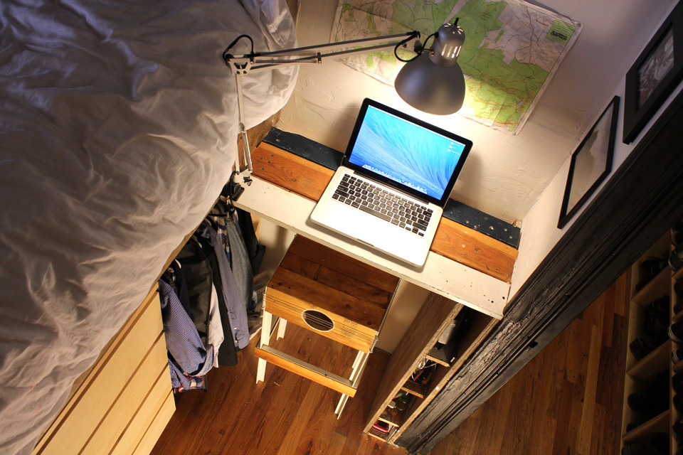 watch this tiny studio transform into a two-bedroom apartment