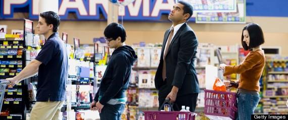 Image result for cashier line