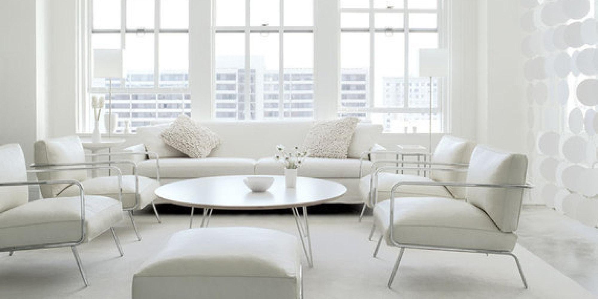 All White Home Interiors