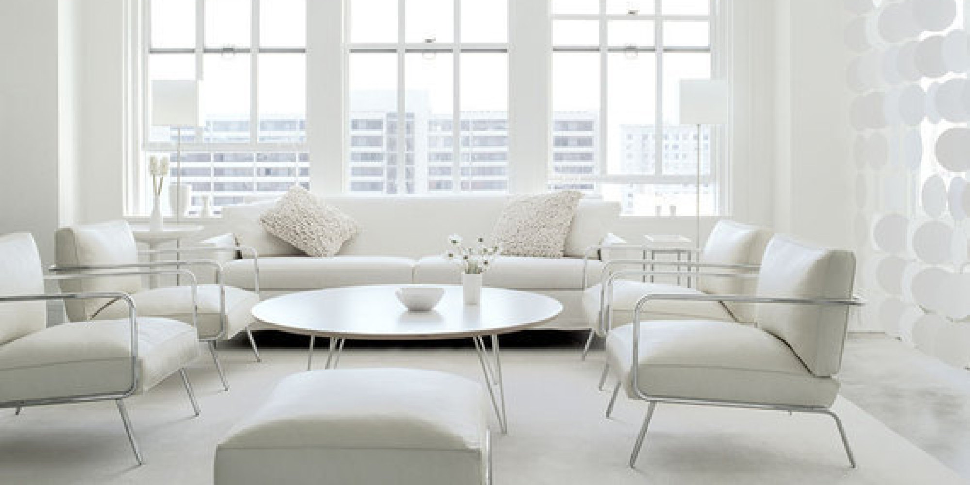 7 All White Interiors That Deliver A Fresh Look