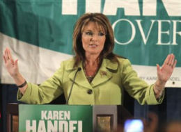 Sarah Palin Karen Handel Endorsement