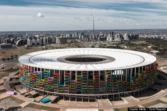 world cup renovated stadium