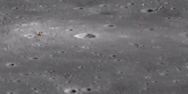 Amazing New 3D View Of The Apollo 11 Landing Site ...