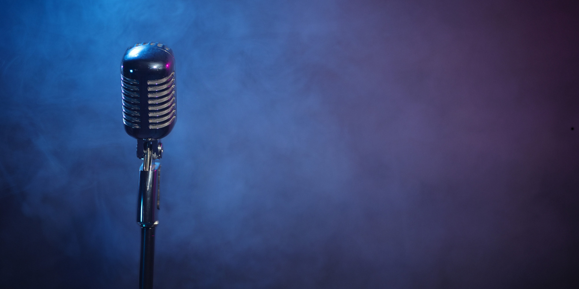 Image result for pictures of an empty mic on a stage