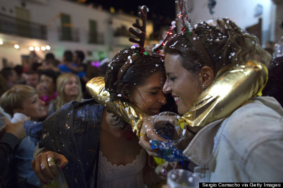 Tiny Town Of Berchules Goes Big For New Year s    In August   HuffPost B    rchules is nestled at the base of Spain s Sierra Nevada mountains in the  province of Granada  on the country s southern coast