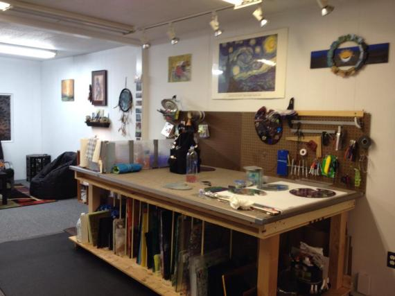 44 Stunning Art Studios That Will Inspire You To Get Back