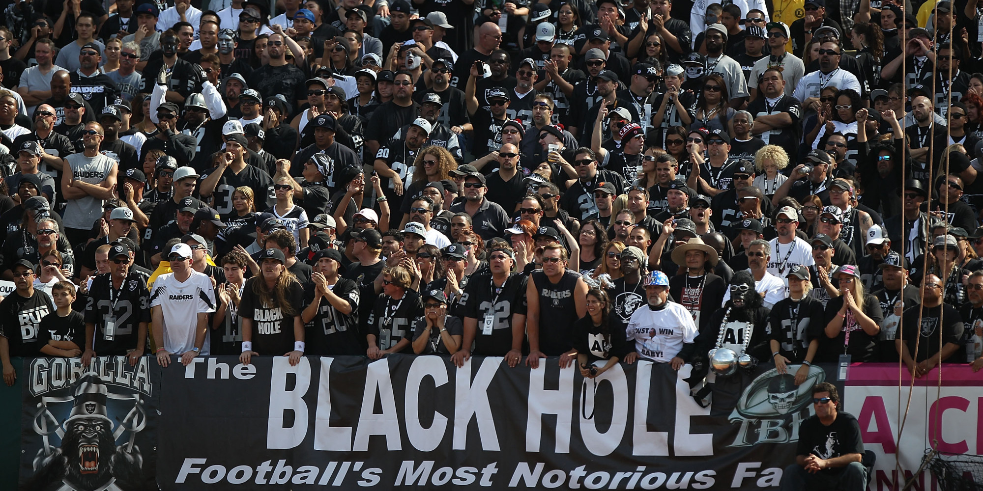 Image result for oakland raiders fans