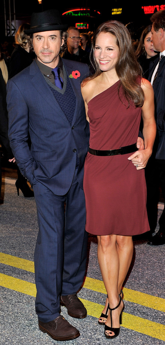 Robert And Susan Downey Promote Due Date PHOTOS HuffPost