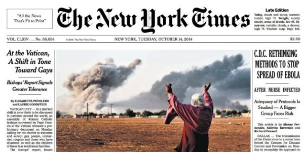 New York Times Prints Huge Mistake On Front Page   HuffPost