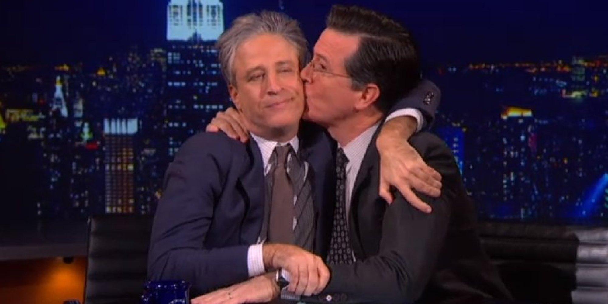 Stephen Colbert Calls Jon Stewart A Liberal Lion