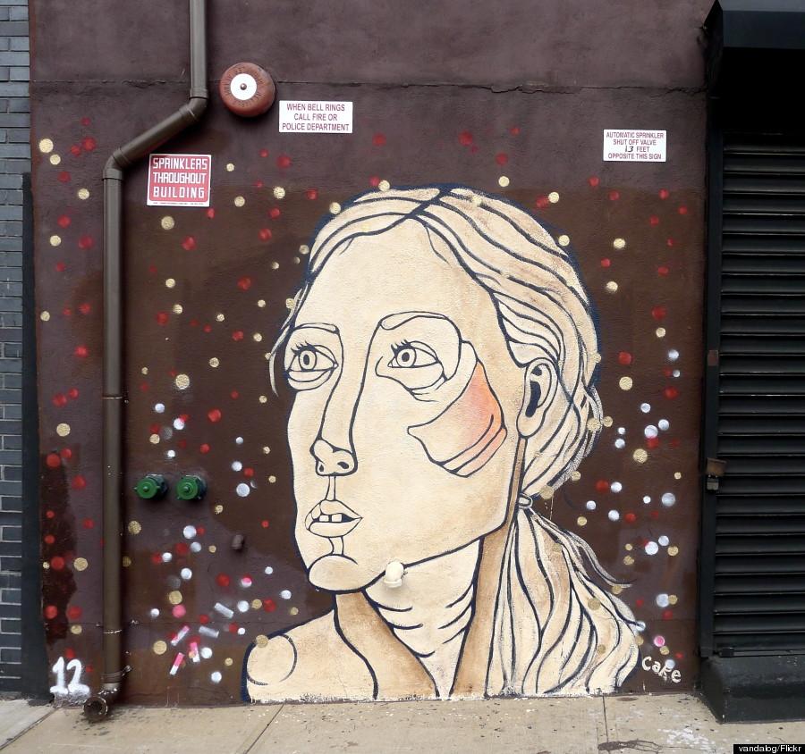 cake street art